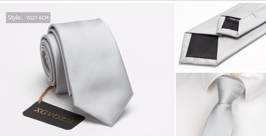 Men ties necktie Men's vestidos business wedding tie Male Dress legame gift gravata England Stripes JACQUARD WOVEN 6cm 26