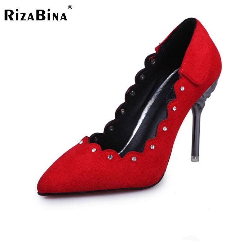 Lady Thin Heel Shoe Women Solid Color Rhinestone High Heels Pumps Pointed Toe Office Club Party Shoe Wedding Footwear Size 35-39 cicime women s heels thin heel spikes heels solid slip on wedding fashion leisure casual party dressing high heel platform pumps