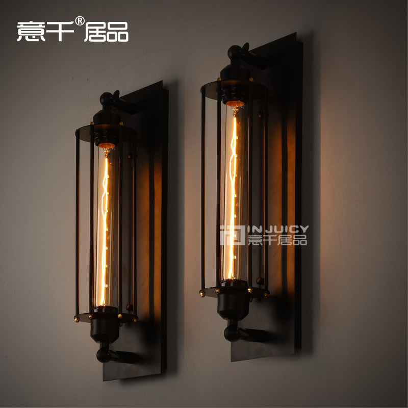 RH LOFT RARE large Vintage style Industrial Edison Lamp bulb ceiling wall mirror light With T300 110V 120V 220V 240V BULB loft vintage edison glass light ceiling lamp cafe dining bar club aisle t300