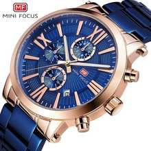 MINIFOCUS Casual Sport Watch Chronograph Men Waterproof Calendar Quartz Watches Fashion Military Clock Male Relogio Masculino pacific angel shark sport watch luxury calendar quartz men male watches fashion red black leather band relogio masculino sh094
