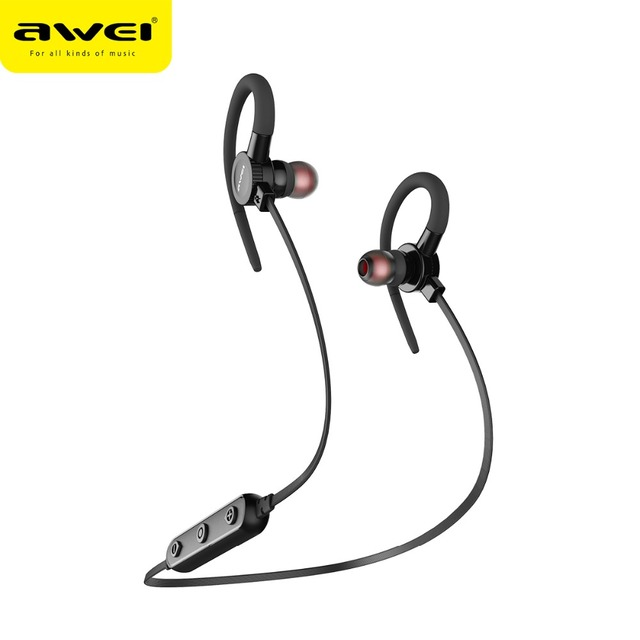 204185d9d9d AWEI B925BL Magnetic Wireless Headphones Stereo Bluetooth Earphone Sports  with microphone Bass Music Bluetooth Headset Earbuds