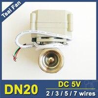 TF High Quality Electric Ball Valve TF20 S2 C NPT BSP 3 4 DN20 Full Bore