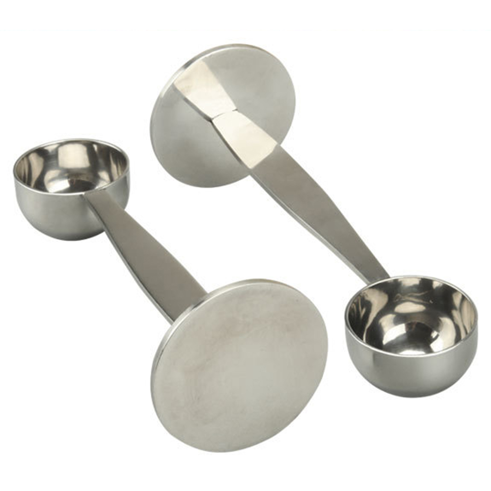 304 Stainless Steel Stand Coffee Powder Measuring Tamper Spoon Stainless Steel Coffee & Tea Tools
