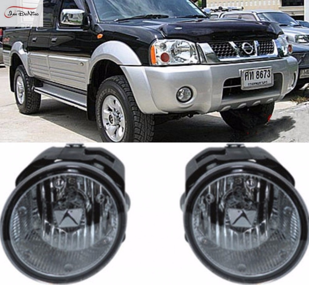 JanDeNing Car Fog Lights For NISSAN X-TRAIL/FRONTIER 2003~2004 Front Fog Lamp Light Lamp Replace Assembly kit (one Pair)
