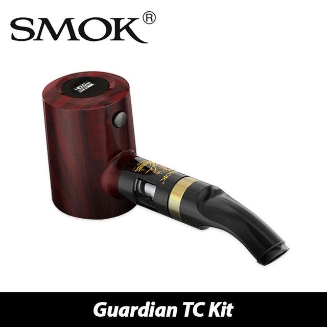 Original smok guardián tubería kit 1000 mah batería y 1.7 ml casco tanque nano 40 w mod tutor tc/vw modeu tubo en forma de e-jugo