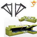 adjustable sofa bed open storage frame hinge with spring D10
