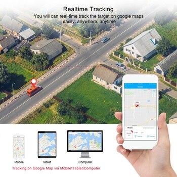 GPS Tracker Car TKSTAR TK905 5000mAh 90 Days Standby 2G Vehicle Tracker GPS Locator Waterproof Magnet Voice Monitor Free Web APP 4