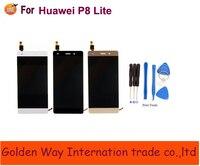 Angcoucoux сотовый телефон Запчасти для Huawei P8 Lite ЖК-дисплей Дисплей с Сенсорный экран планшета Ассамблеи Запчасти для авто бесплатная доставка