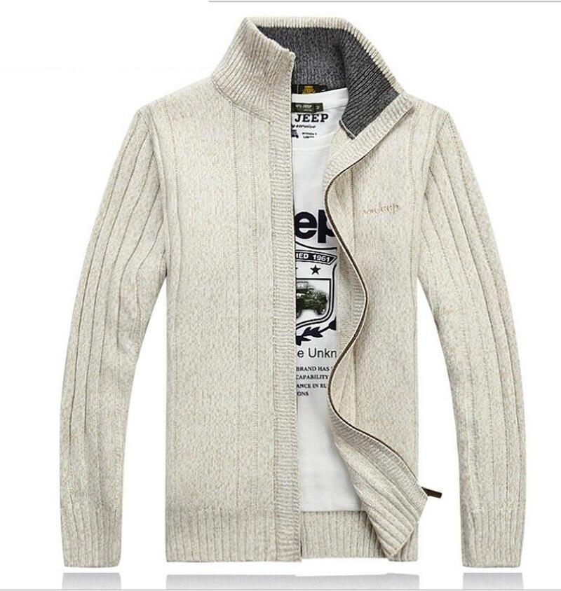 Ausdauernd 2019 Neue Ankunft Pullover Sweatercoat Männer Dicke Herbst Winter Direkt Fabrik Preis Groben Mode Lässig Größe M-3xl