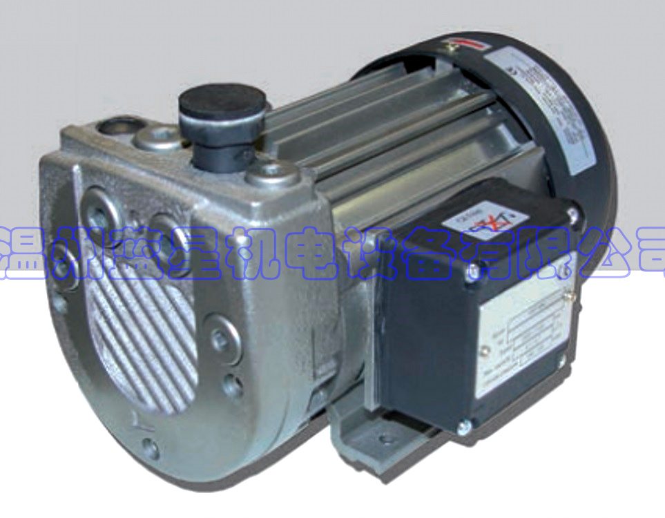 KLEE oil-free vacuum pump Kbv-408 can replace  VT4.8 Maximum flow: 7.6m3/h, max absolute vacuum 150mbar, voltage AC220V