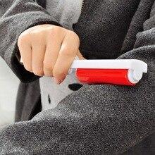 Портативный складной моющиеся липкий волос Pet удаления волос Костюмы всасывания пыли щетка