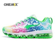 Onemix Music Series Otoño e Invierno Mujeres Malla Transpirable Zapatillas de deporte al aire libre zapatos de hombre Zapatillas de deporte Tamaño 3.5-7