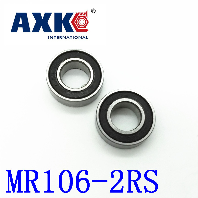 2018 New Axk Factory Direct Sale Mr106-2rs L-1060dd Wa676 6*10*3 Mm High-quality Goods Model Bearing Helicopter Car Available