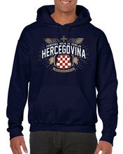 лучшая цена Hot Casual for Men Clothing HERCEGOVINA Hrvatska BiH Croat CROATIA Black Majica Hoodies Sweatshirts