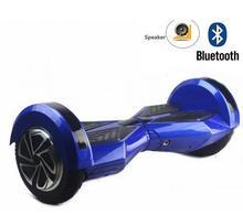 Scooter eléctrico Monociclo Inteligente rueda Skateboard Hoverboard ul Drift 2 Ruedas de Auto Equilibrio Scooter de 8 pulgadas Bluetooth Music LED