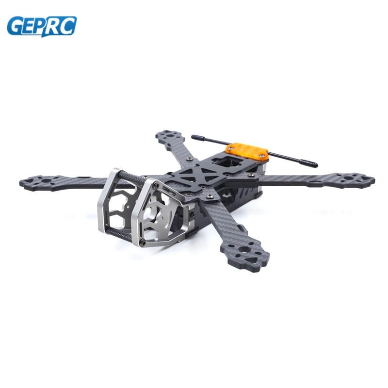 GEPRC GEP-KHX4 KHX5 KHX6 elegante 200mm 230mm 260mm distancia entre ejes Kit de marco de fibra de carbono para modelos RC de Multicopter motor de Knott