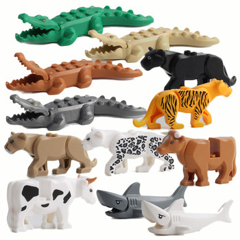Animal Series Model Big Particles Building Blocks Animals Educational Toys For Kids Children Gift Compatible With Legoed Bricks Квадрокоптер