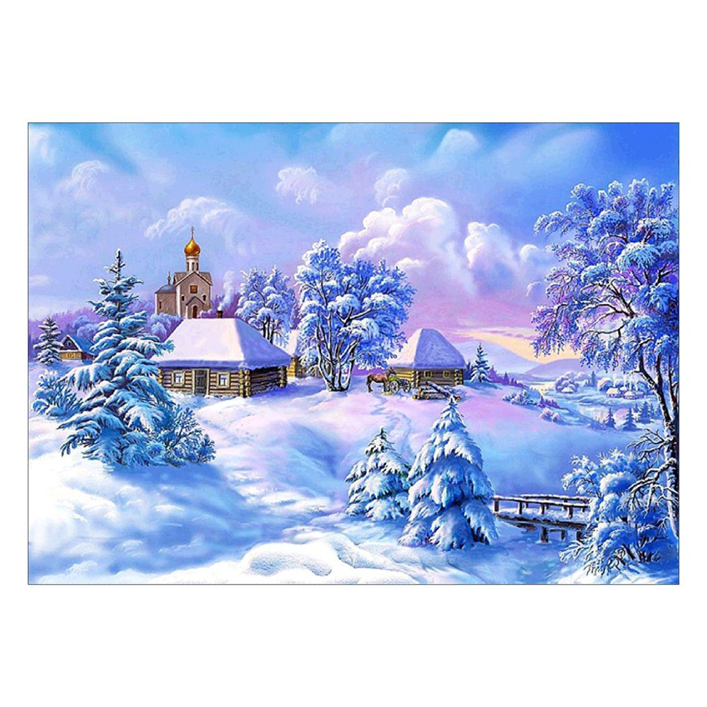 5D Full Diamond Painting Embroidery Cross Crafts Stitch Kit Home Art Decor DIY Gifts