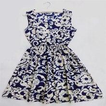 Free shipping 2015 HOT new 18 Styles Women casual Bohemian floral leopard sleeveless vest printed beach chiffon dress 17#
