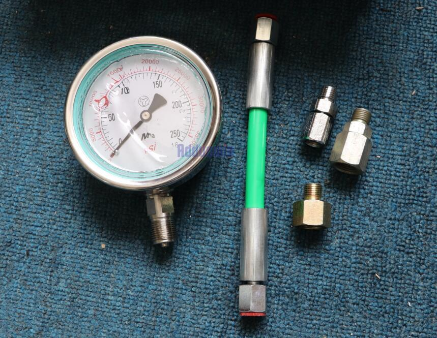 0 250Mpa Common Rail High Pressure tester for diesel oil circuit common rail plunger common rail