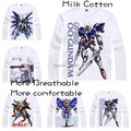 2015 Gundam Mobile Suit 0079 RX-78 T Shirt Anime Japanese Famous Animation Novelty Summer Men's T-shirt Cosplay Costume Clothing