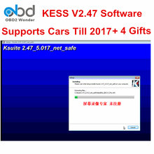 Latest Ksuite V2.47 For KESS V2 Master V5.017 ECU Chip Tuning Tool Update of KESS V2.23 Adding More OBD2 Protocols 4 Gifts(China)