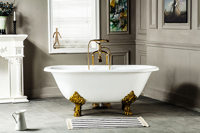 60 free standing tub. 60  CUPC Approval Freestanding Luxury Bathtub Cast Iron Double Ended Tub 1013