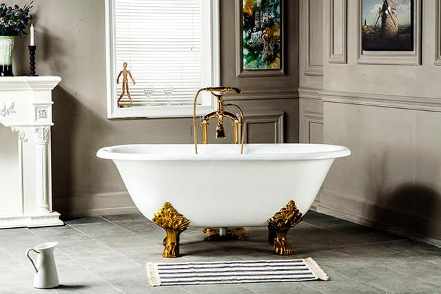 Vasca Da Bagno Ghisa : Vasche da bagno antiche vasca con piedini ghisa rismaltata antica