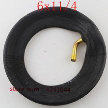 6X1 1/4 Electric scooter baby carriage folding bicycle tires inner tube 6 inch Mini scooter tyre inner tube