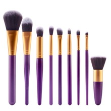 Makeup Brushes 9 Pcs 27 Color Styles Professional Soft Eye Cosmetics Beauty Make up Brushes Set Kabuki Kit Tools Maquiagem  WY5