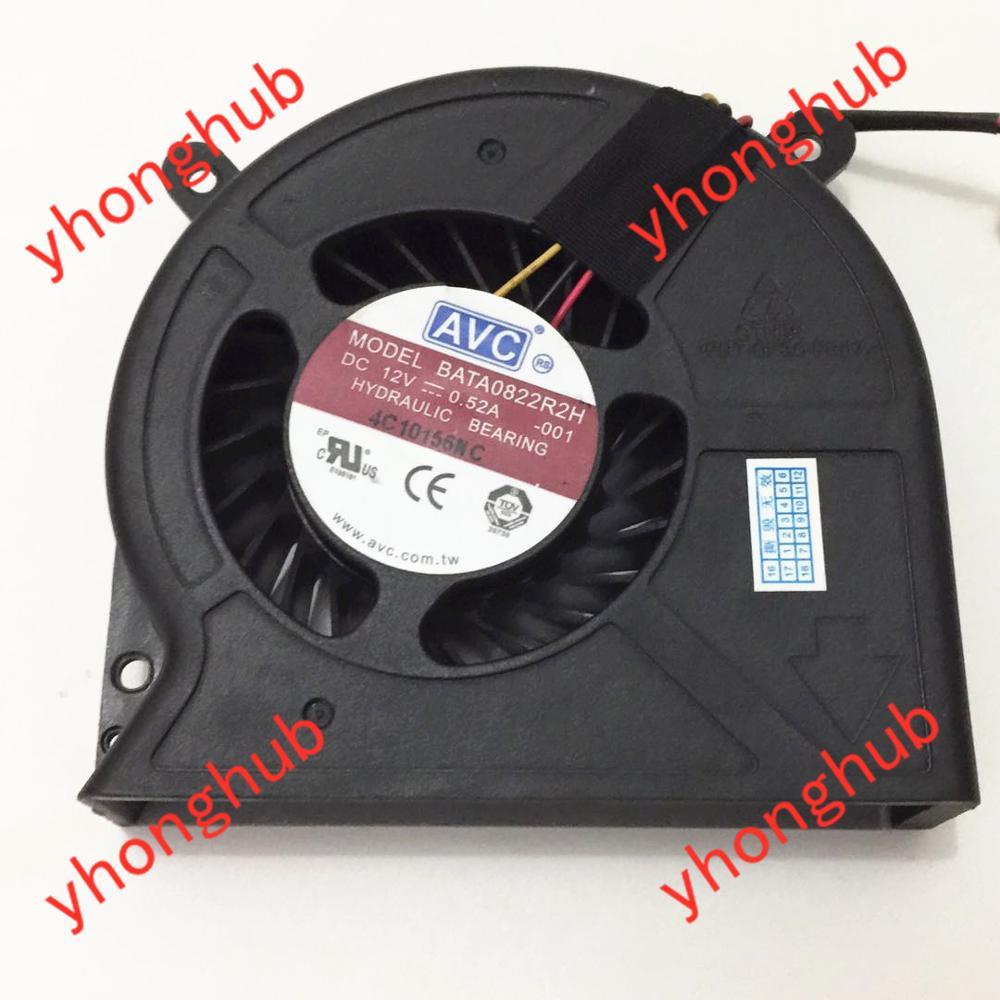 AVC BATA0822R2H-001 DC 12V 0.52A 83x88x22mm ventilateur de refroidissement du serveur