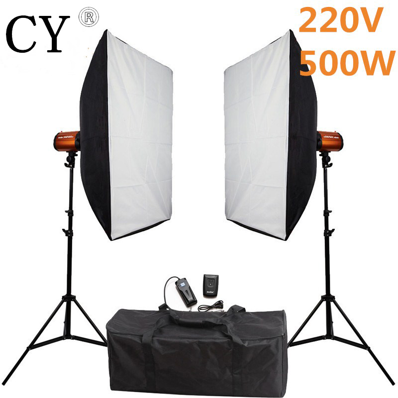 Godox Smart 250SDI Photography Studio 500ws 220v Mini Strobe Monolight Lightbox Kits Photo Studio Flash Lighting Kits PSK250D2 led daytime running light led drl for vw tiguan led daylight led car fog lights