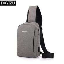 DINGXINYIZU male mini cross body bags boys small one shoulder chest bag usb charge sling travel bag pack men messenger bags men travel chest pack single rucksack england chest bags shoulder cross body bag external usb charge backpack women bag pack
