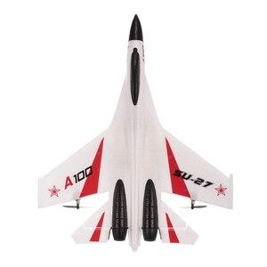 Image 5 - RC طائرة A100 J11 EPP 340 مللي متر الجناح 2.4 جرام 3CH الثابتة الجناح الطائرات في الهواء الطلق لعب الأطفال هدية