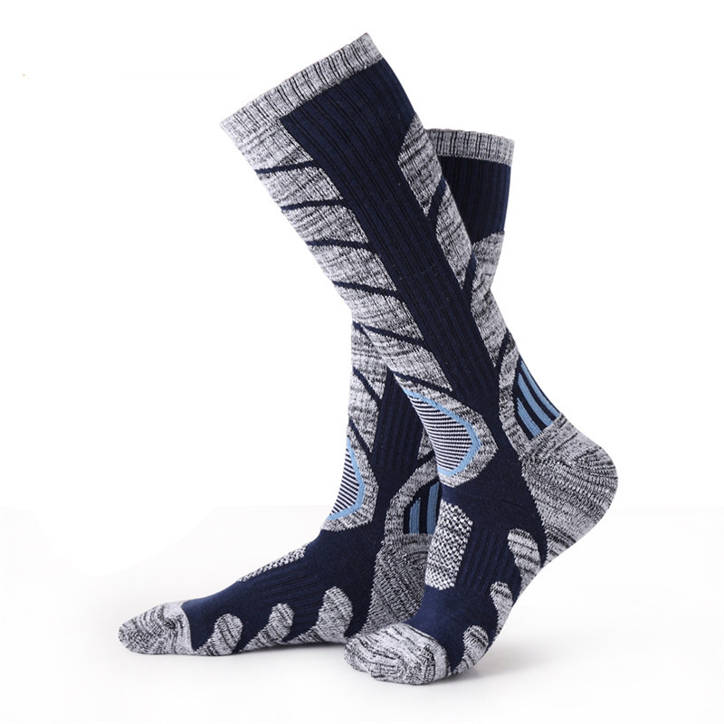 2 Pack Boys Girls Designer Campri Warm Padded Knitted Ski Tube Socks Size 1-6