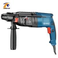 220V 800W Electric Hammer Drill Rotary Hammer Three Functions Household Impact Drill Multi function Prower Tool Machine Drilling