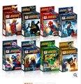 Мстители Super hero Сборка строительных блоков игрушки 1 шт. мозга игра Капитан Америка Бэтмен Халк бесплатная доставка Набор 8