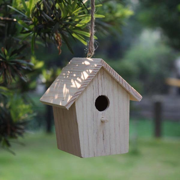 aliexpress : buy 2pcs/lot.paint unfinished wood bird house