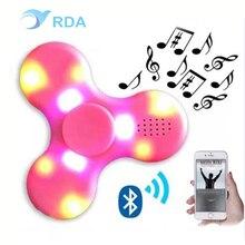LEDมินิบลูทูธลำโพงเพลงอยู่ไม่สุขปินเนอร์EDCมือปั่นสำหรับออทิสติกและเด็ก/ผู้ใหญ่ตลกอยู่ไม่สุขของเล่นในหุ้น