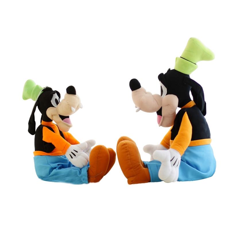 1pc 30CM Goofy Dog Plush Toy Stuffed Toy High Quality Cartoon Figure Goofy Toy Lovey Cute Doll Gift for Children ggs 30cm goofy dog plush toy doll super quality lovey cute doll gift for children christmas toys