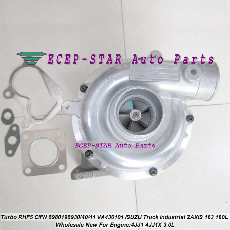 RHF5 CIFN 8980198930 8981851940 8981851941 VA430101 Turbo Turbocharger Per ISUZU Camion Industriale ZAXIS 163 160L 4JJ1X 3.0L-in Prese aria da Automobili e motocicli su ECEP-STAR Auto Parts