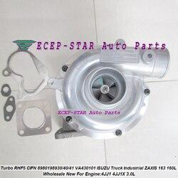 RHF5 CIFN 8980198930 8981851940 8981851941 VA430101 Turbo turbosprężarka do ciężarówkę ISUZU przemysłowe ZAXIS 163 160L 4JJ1X 3.0L