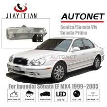 Câmera de Visão Traseira Para Hyundai Sonata EF JiaYiTian 1998 ~ 2006/Câmara De Estacionamento de Backup Reversa Câmera/CCD HD/Night Vision