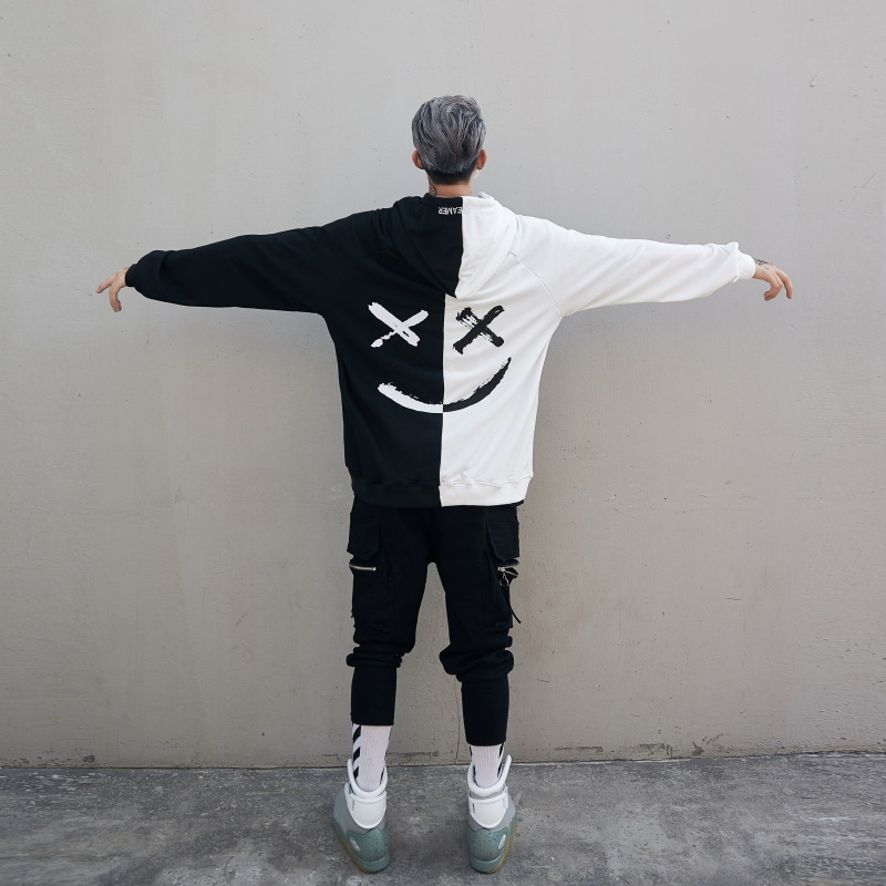 Pwnage Haxed Hoodie Black & White