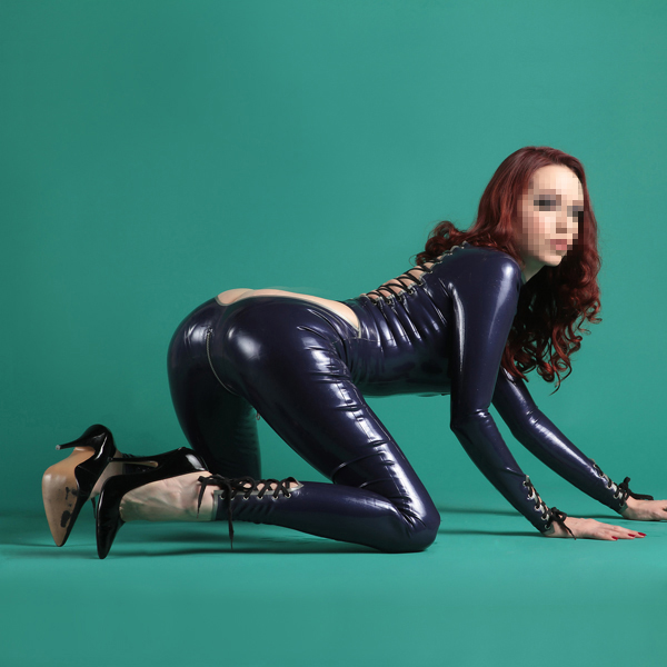 New Arrival Rubber Latex Fetish Fashion Club Wear Latex Party Sexy Custome Lace Up Cat Catsuit With Open Back In Zentai From Novelty Special Use On