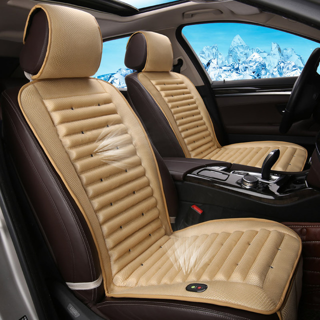Built In Fan Cold Air Circulation Cushion Ventilation Car Seat Cover For Infiniti EX25 FX35