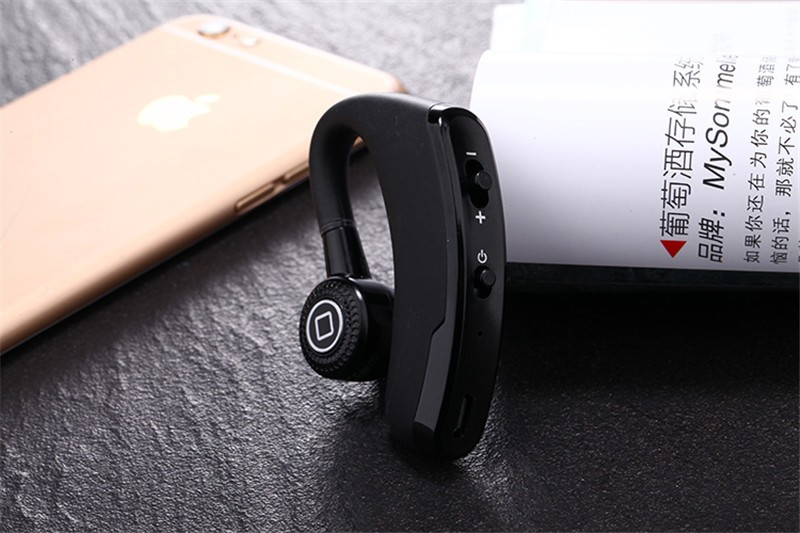 Handsfree business bluetooth headset with mic voice control wireless bluetooth headphone for sports noise cancelling earphone (11)