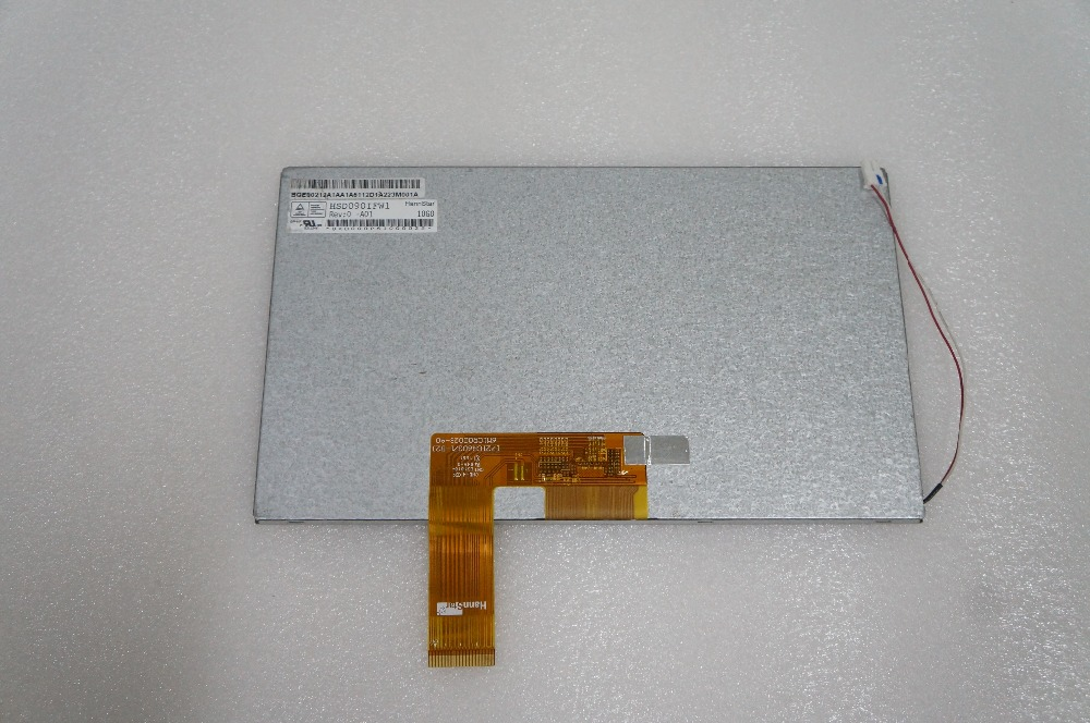 New 9 inch HSD090IFW1 HSD090IFW1 A01 HSD090IFW1 A00 HSD090IFW1 A20 LCD Display screen-in Tablet LCDs & Panels from Computer & Office    1