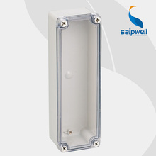 Saipwell Brand Waterproof plastic case electronics,ABS waterproof switch box 80*250*70mm (Transparent Cover) Type DS-AT-0825