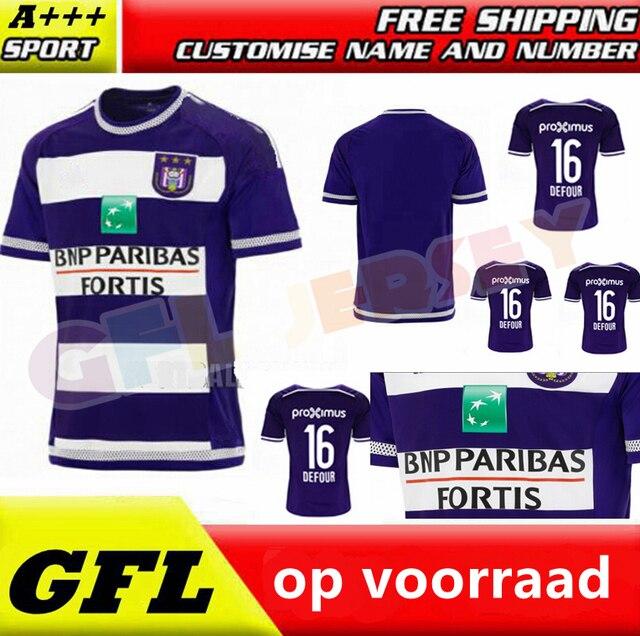 a892cd0d8a0 Anderlecht Jersey rsc anderlecht home 15/16 Belgium Pro League Soccer  Jersey best quality 2015